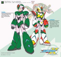 Megaman+X2+Spin+Wheel-Ver.Ke+by+Redblaze4080.deviantart.com+on+@DeviantArt