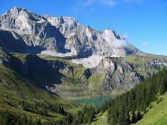 Bannalpsee of Canton Nidwalden, Suisse.