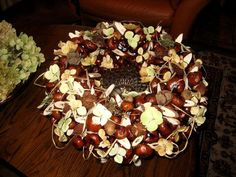"""Creative in and around the garden: making """"cakes"""" with chestnuts & other…"""
