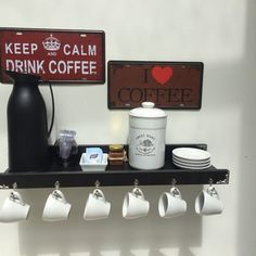 Coffee Corner Kitchen, Coffee Bar Home, Home Coffee Stations, Coffee Set, Coffee Drinks, Modern Restaurant, Restaurant Interior Design, Kitchen Plants, Keep Calm And Drink