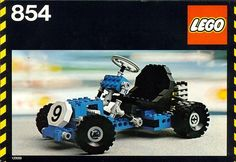 """Lego Technic Cart (854). I used to go to work with my dad when he cleaned a Walgreens in Crossroads mall.  I would always go over to Kay Bee Toys and look at the Legos.  Fortunately my dad got as addicted to them as me and would always buy """"me"""" a new set every so often."""