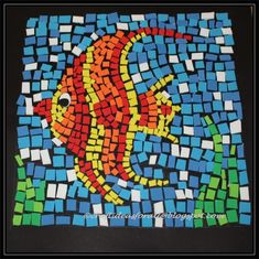 mosaic art ideas for kids - Google Search