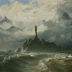 "[Image: Peder Balke, ""Seascape"" (1848), courtesy of the Athenaeum]. As cities like New York prepare for ""permanent flooding,"" and as we remember submerged historical landscapes such as Doggerland, …"