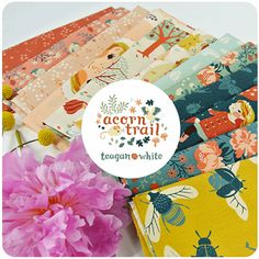 A new collection of fabric designs by Teagan White , available September 2014. Acorn Trail, organic fabric by Birch Fabric.
