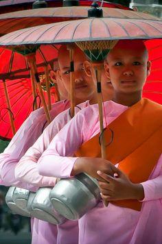 Witnessing the alms giving ceremony and ritual in Myanmar is a wonderful way to start your day. First thing in the morning, you will see monks and nuns begging for alms throughout the streets and villages. Click photo through to post for travel guide.