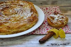 Tapitas y Postres: Ruffled milk pie. Scones, French Toast, Recipies, Birthdays, Food And Drink, Cooking Recipes, Breakfast, Sweet, Celestial