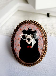Harvey bear art ring €27