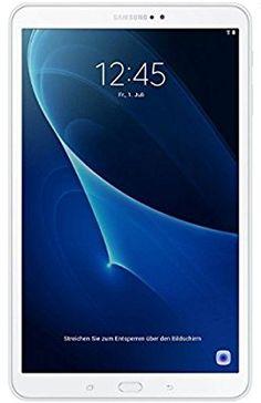 Samsung Galaxy Tab A - Tablet de 10.1 pulgadas Full HD (WiFi, Procesador Octa-core Cortex-A53, 2 GB de RAM, 16 GB de almacenamiento, Android 6.0 Marshmallow), color blanco