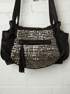 Cut N' Paste Studded Jessi Satchel at Free People Clothing Boutique