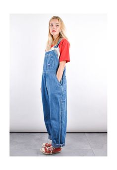 Cute Overalls, Denim Overalls, Dungarees, Overalls Fashion, Converse All Star, Jumpsuits For Women, Kara, Blue Denim, Fashion Inspiration