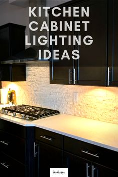Kitchen Cabinet Lighting Idea that is so simple to install yourself. Why pay someone to do this when you will have this done yourself in 15 minutes. This cabinet lighting works great both inside and under the cabinets. Kitchen Under Cabinet Lighting, Kitchen Lighting Fixtures, Diy Cabinets, Kitchen Cabinets, Light Words, Kitchen Trends, Kitchen Ideas, Old Kitchen, Beautiful Kitchens