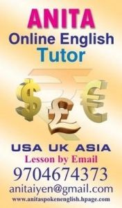 English trainer via Skype and Personal hyderabad