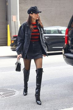 49955de49dd Top 25 Street style outfits By Bella Hadid that will give you fashion envy!  #