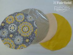 Simple Tortilla Cozy Tutorial - Fairfield World Craft Projects Fabric Crafts, Sewing Crafts, Sewing Projects, Craft Projects, Sewing Patterns, Crochet Patterns, Sewing To Sell, Quilted Gifts, World Crafts