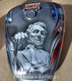 Airbrush Pin Galleries - Best Airbrush Art Images, Videos and Galleries: share, rate thousand of Pictures and discover the latest uploads! - Just Airbrush Airbrush Art, Moto Fest, Motorcycle Tank, Air Brush Painting, Custom Paint Jobs, Tank Design, Bike Art, Art For Art Sake, Detail Art