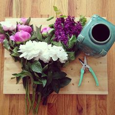 https://www.facebook.com/OfficialSW flowers peonies turquoise