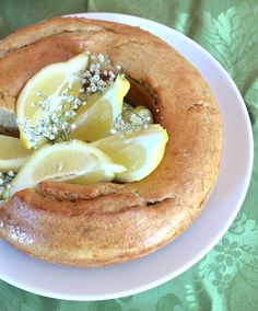 cake aux amandes et au citron vegan Smart Nutrition, Gateaux Cake, Vegan Life, Vegan Desserts, Camembert Cheese, Dairy, Breakfast, Ethnic Recipes, Food