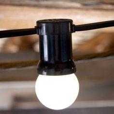 Guirnalda 12 bombillas | La tienda de La Factoría Plástica