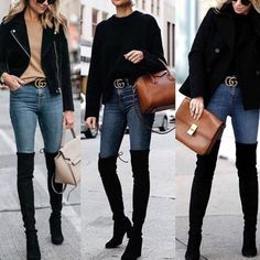 Classy outfit idea to copy ♥ For more inspiration join our group Amazing Things ♥ You might also like these related products: - Jeans ->. Winter Fashion Outfits, Fall Winter Outfits, Look Fashion, 90s Fashion, Autumn Winter Fashion, Womens Fashion, Fashion Movies, Korean Fashion, Street Style Trends