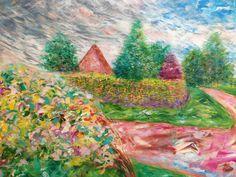 Under the peace, acrylic on canvas, Ho Sung Lee, 2003
