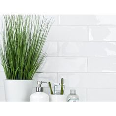 Artisan Frost Porcelain Tile - 3 x 12 - 100185792 | Floor and Decor