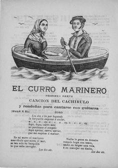 El curro marinero . Primera parte, Canción del cachirulo y Rondeñas para cantarse con guitarras