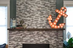 Blog Cabin DIYs: How to Clad a Fireplace With Recycled Granite