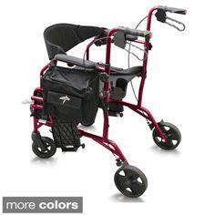 Medline Translator Combination Transport Chair and Rollator