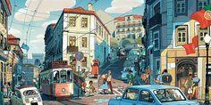 Lisbon, Sam Bosma's Portfolio
