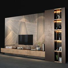 Modern Tv Room, Modern Tv Wall Units, Living Room Modern, Small Living, Living Room Wall Units, Living Room Tv Unit Designs, Living Room Decor, Tv Wall Unit Designs, Modern Tv Unit Designs