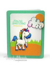 Paper Smooches - Sandy Allnock card