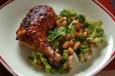salad dressing chicken    Made this tonight for dinner. Wonderful and really easy! That little bit of honey in the dressing makes a lovely difference. I suggest sticking the chicken under the broiler for a minute or two to brown the chicken a bit.