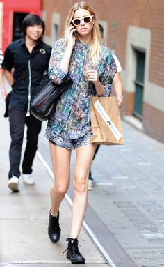 Whitney Port in Manhattan #style