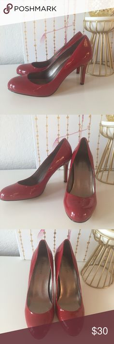 NWOT Red Patent Ann Taylor Heels NWOT Ann Taylor red patent heels. Never worn. 3 inch heel, size 8. Ann Taylor Shoes Heels