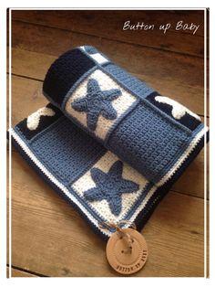 Adorable Crochet Baby Blanket Blue Whale In The Ocean