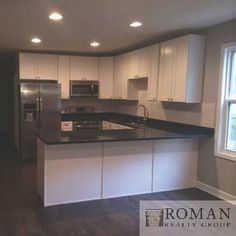 Our beautiful kitchen from our newly rehabbed property in Chicago, IL