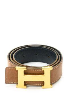 Vintage Hermes Leather Constance Belt - Size 70 by Vintage Hermes on @HauteLook