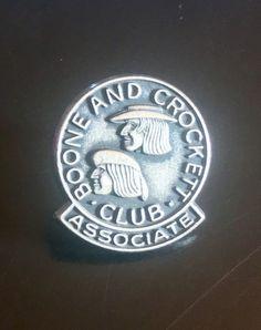 Boone Amp Crockett Club Associate Pin Metal   eBay