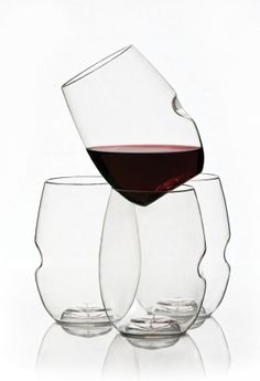 Govino Stemless Wine Glass - 4 pack Tote - hardtofind.