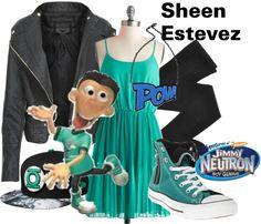 """Sheen Estevez - Jimmy Neutron"" by lilyelizajane on Polyvore"