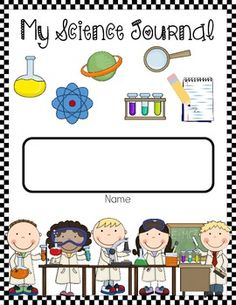 kids science notebook start-up pack-8 page free printable ...