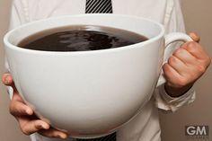 特大コーヒカップで違いのわかる男になろうぜ!