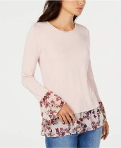 77dd5819 Vince Camuto Layered-Look Top, Created for Macy's Layered Look, Vince Camuto ,