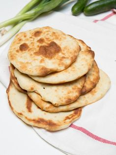 Simple recipe for Naan Bread, its completely delicious!