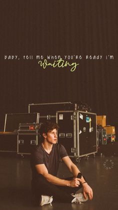 When you're ready lyrics Shawn Mendes Lockscreen, Shawn Mendes Wallpaper, Shawn Mendes Quotes, Shawn Mendes Concert, Shawn Mendas, Play That Funky Music, Chon Mendes, Fangirl, Cool Lyrics