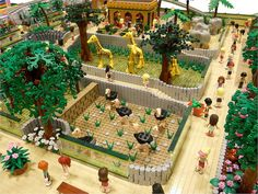 LEGO Friends: Animal Park | Flickr - Photo Sharing! Lego Activities, Art Activities For Kids, Lego Zoo, Lego Friends Sets, Lego Animals, Parks, Amazing Lego Creations, Lego Modular, Lego Figures