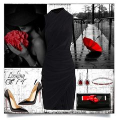 """Untitled #803"" by gallant81 ❤ liked on Polyvore featuring Alexander Wang, Christian Louboutin and Giorgio Armani"