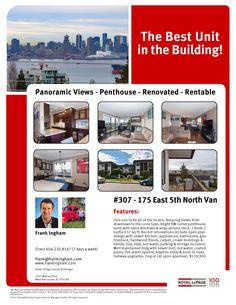 Condo Time? North Van...Sweet! Lions Gate, Penthouse Suite, Kitchen Design, Condo, Real Estate, Van, The Unit, Amazing, Building