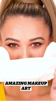 Best Makeup Tips, Best Makeup Products, Facial Routine Skincare, Black Hair Video, Makeup Looks Tutorial, Makeup Makeover, Eye Makeup, Makeup Art, Makeup Videos
