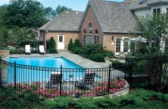 1000+ images about Fencing for pool on Pinterest | Vinyls, The old ...